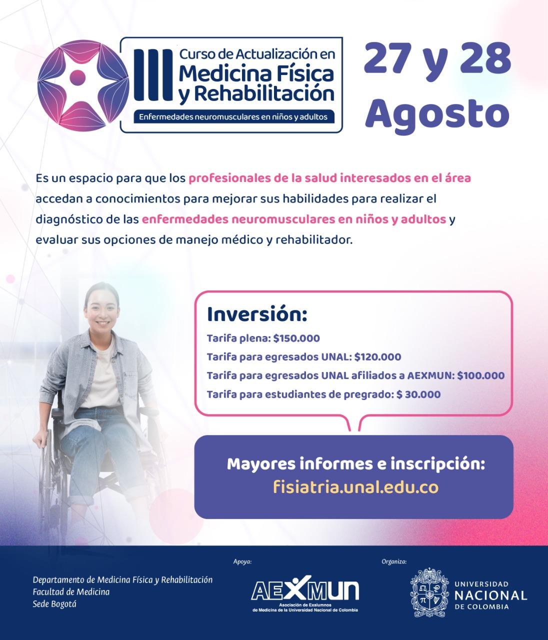 III Curso de Actualización en Medicina Física y Rehabilitación